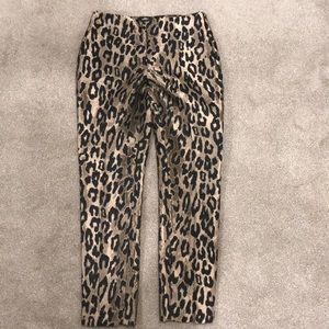 NWT Vince Camuto Size 2 Leopard Print Pants